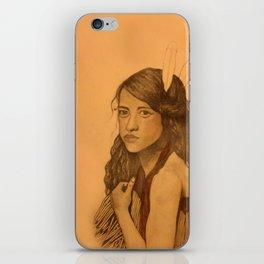 Tribal Girl iPhone Skin