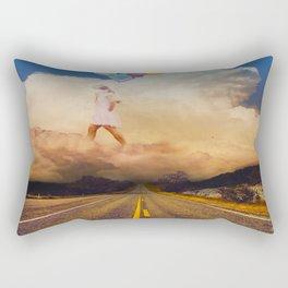 A matter of perception: As above, So below Rectangular Pillow