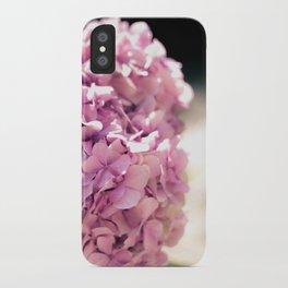 The beautiful hydrangea iPhone Case