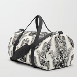 Hamsa Hand Frenchie Duffle Bag