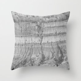 Drumheller Badlands Throw Pillow