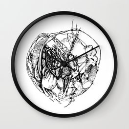 Heart of Chaos Wall Clock