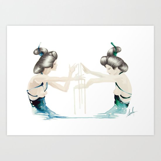 Accomplice Art Print