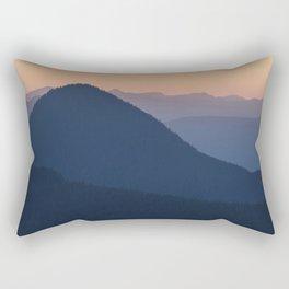 Silhouettes at Sunset, No. 2 Rectangular Pillow