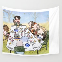 A Max Fischer Thanksgiving Wall Tapestry