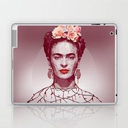 Frida Kahlo Low Poly Portrait Laptop & iPad Skin