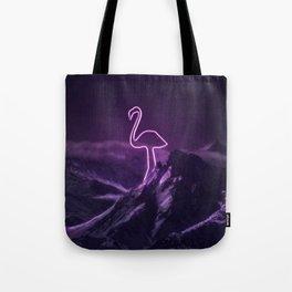 Flamingo Hike Tote Bag