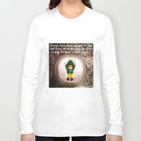 percy jackson Long Sleeve T-shirts featuring Percy - Snow Angel by Rich Mitch Pics