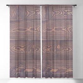 Hard Knock Western Sheer Curtain