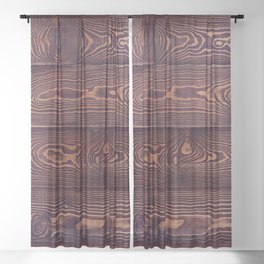 Hard Knock Western Sheer Curtain