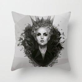 Snow white Witch Throw Pillow