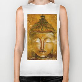 Buddha Art Biker Tank