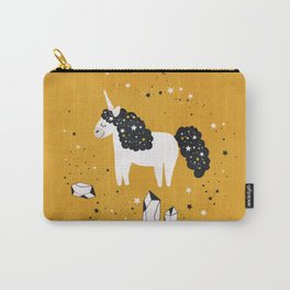 Stellar Unicorn with Stars and Constellations Carry-All Pouch