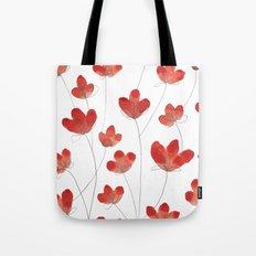Poppy Flowers 2 Tote Bag