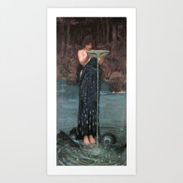 Circe Invidiosa - John William Waterhouse Art Print