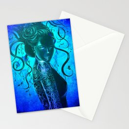 Moody Blue  Stationery Cards