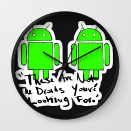 Not the droids your looking for Wall Clock