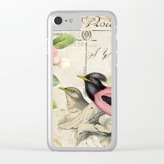 Sweet birds #6 Clear iPhone Case
