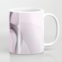 Abstract Art Fractal With Pink Coffee Mug