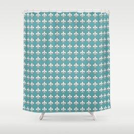 Aqua?1 Shower Curtain