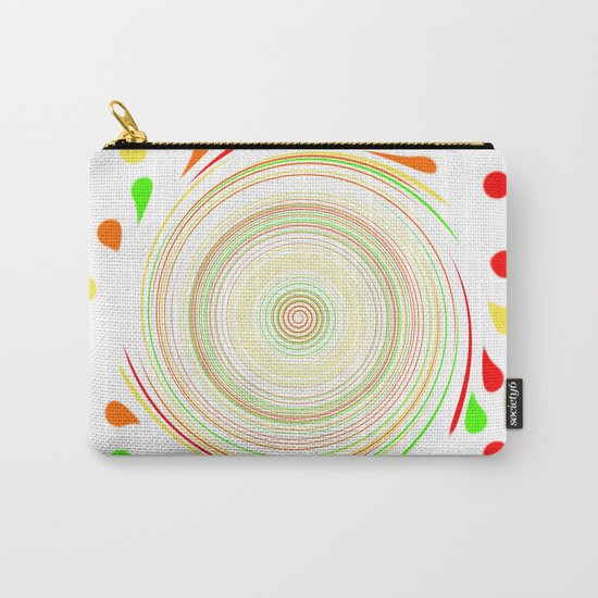Paint Splatter Carry-All Pouch