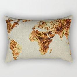 Vintage World Antique Star Map Rectangular Pillow