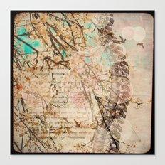 Vertebral Canvas Print