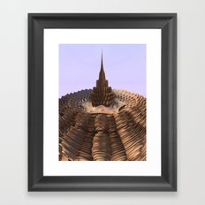 Tower in the Sand Framed Art Print