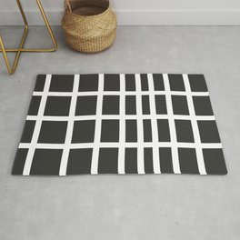 The Modern Square - Stone Gray Rug