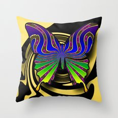 butterfly fantasy Throw Pillow