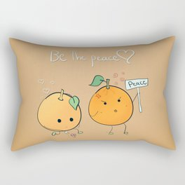if you want peace be it Rectangular Pillow