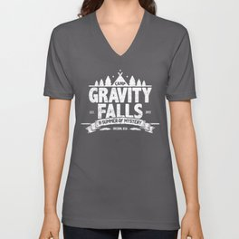 Camp Gravity Falls  Unisex V-Neck