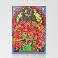 rush Stationery Cards featuring Rush by Carol Wellart
