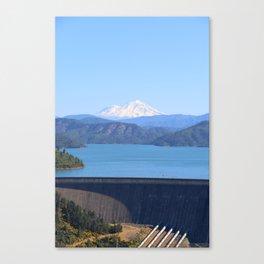 Mount Shasta and Shasta Lake Canvas Print