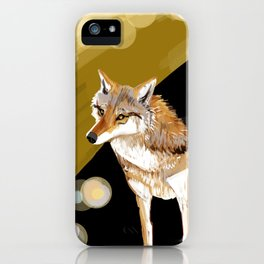 Mongolian Wolf #1 iPhone Case