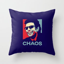 'Chaos' Ian Malcolm (Jurassic Park) Throw Pillow