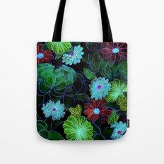 Oriental blossom (night version) Tote Bag