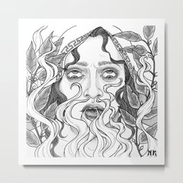 Steambreather Metal Print