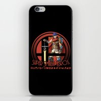 super smash bros iPhone & iPod Skins featuring Ike - Super Smash Bros. by Donkey Inferno