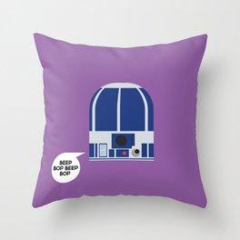 R2-D2 - StarWars Throw Pillow