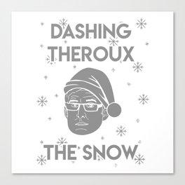 Dashing Theroux The Snow Canvas Print
