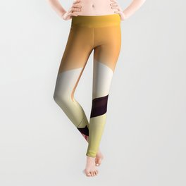 Vintage fighter plane Leggings