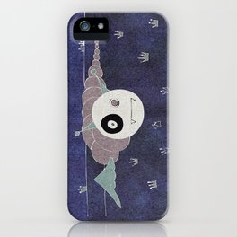 Toothworm by night iPhone Case