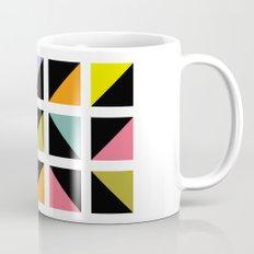 Triangle fragment pattern Mug