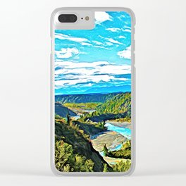 Crooked River Clear iPhone Case