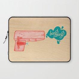 Bang!Bang! SquirtGun Laptop Sleeve