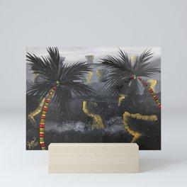 Land of Latte Mini Art Print