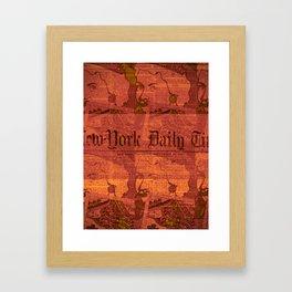 ZAPORA Framed Art Print