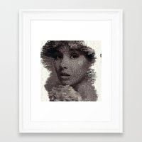 tatoo Framed Art Prints featuring Tatoo by icolorama