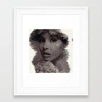 tatoo Framed Art Prints featuring Tatoo by icolorama